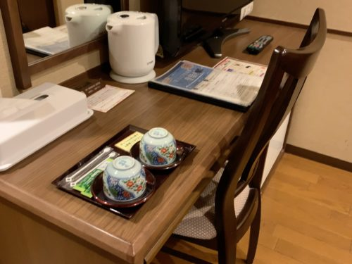 万葉倶楽部の客室9