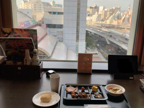 万葉倶楽部朝食4