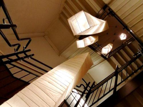 万葉倶楽部の足湯階段2