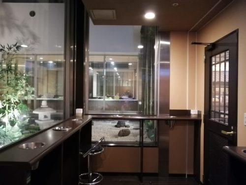 万葉倶楽部9階喫煙所2