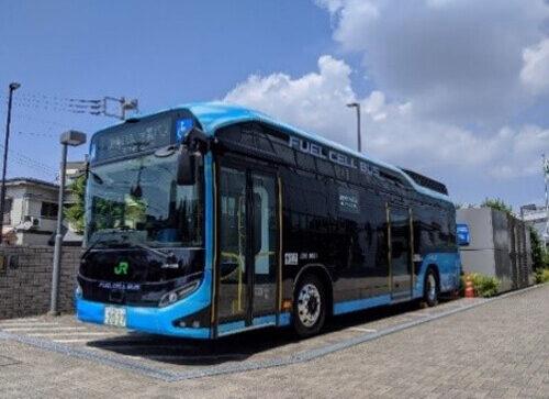 JR竹芝 水素シャトルバス