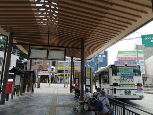 宇治山田駅バス乗り場