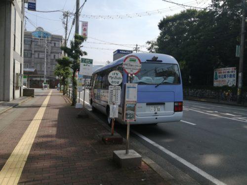 千の杜の送迎バス2