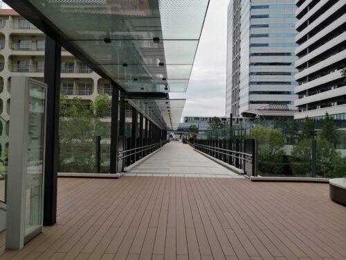 アジュール竹芝歩道橋