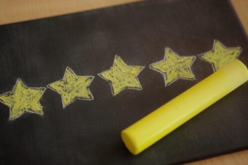ホテルの星