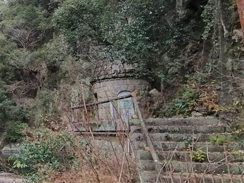 布引雌滝取水堰堤1