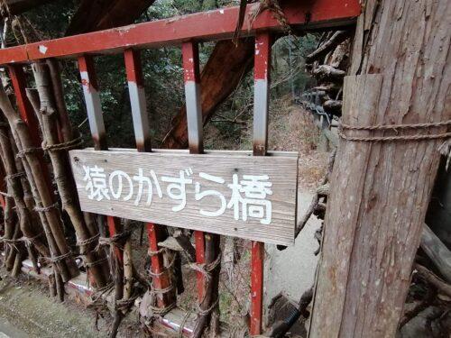 猿のかずら橋3