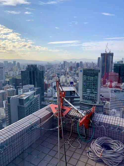 阪急ホテル外壁工事2