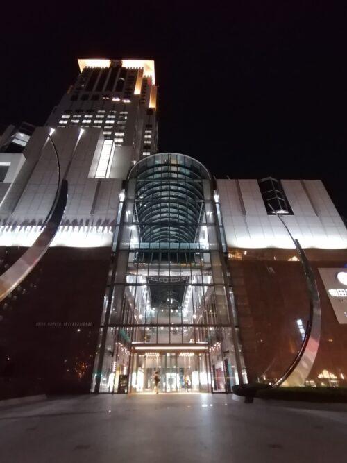 阪急ホテル外観1