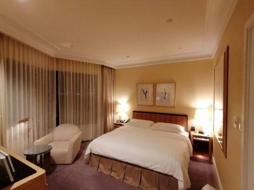 阪急ホテル寝室1