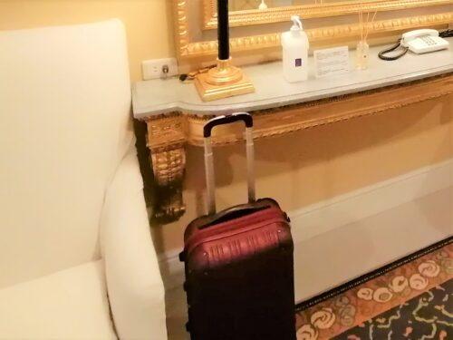 阪急ホテル荷物預かり