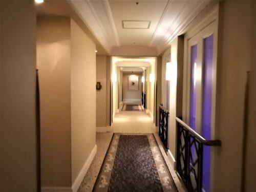 阪急ホテルの廊下1