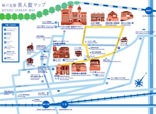 異人館地図1