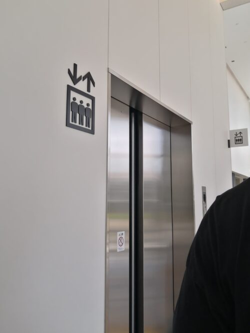エアキャビンのエレベーター