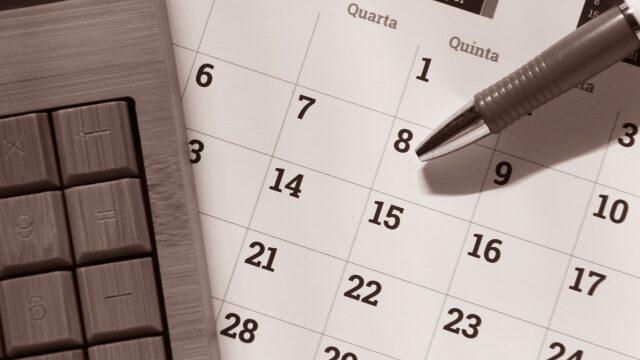 キャンセルカレンダー