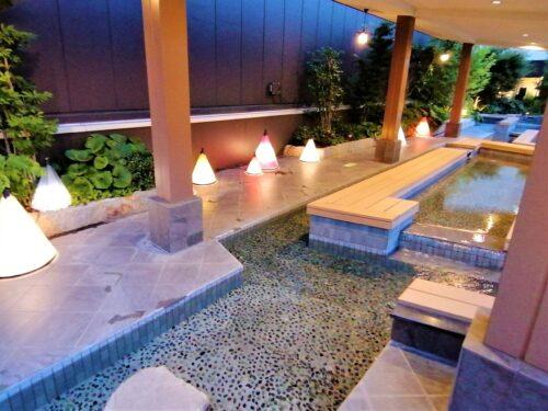 天空庭園の足湯2
