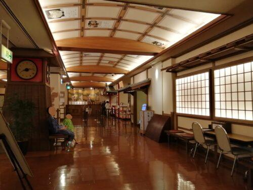 太閤の湯3階ロビー1