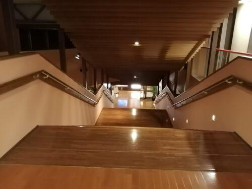 太閤の湯大階段