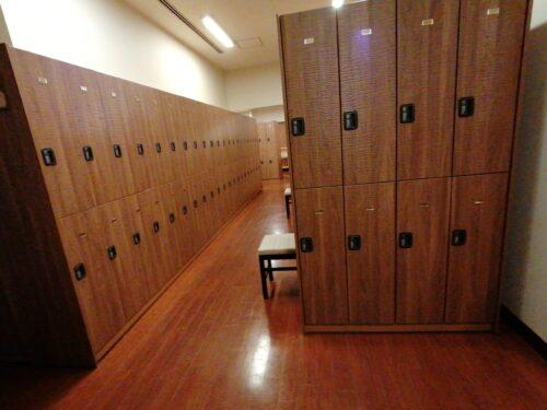 太閤の湯更衣室1