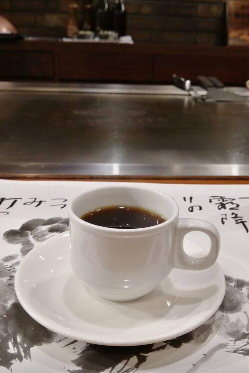 ステーキランド神戸館コーヒー2