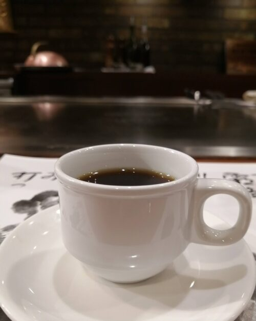 ステーキランド神戸館コーヒー