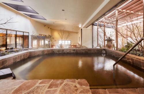 空庭温泉の源泉風呂