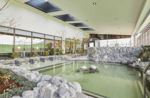 空庭温泉の露天風呂
