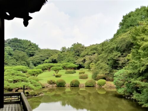 新宿御苑の日本庭園4