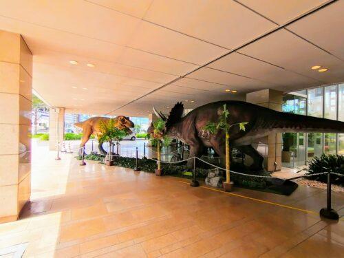 後楽園ホテル恐竜1