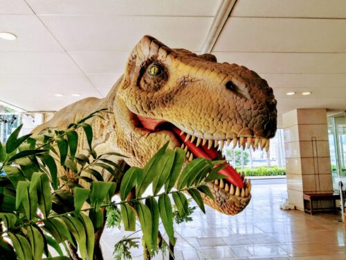 後楽園ホテル恐竜5