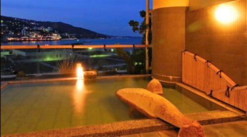 後楽園ホテル露天風呂1