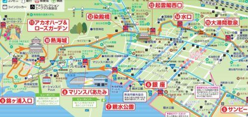 熱海路線バスルートマップ3
