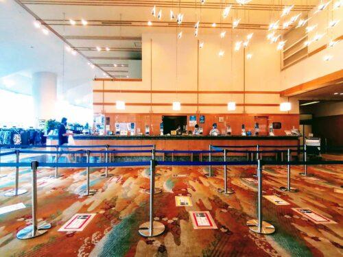 後楽園ホテルフロント2